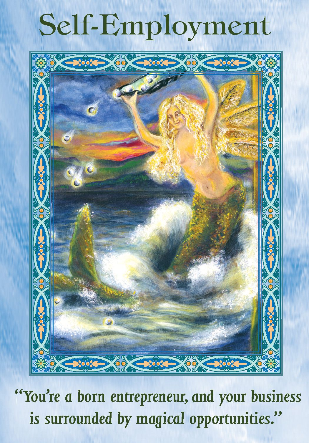 Angel Therapy Oracle Cards Doreen Virtue: Oracle Card Self-Employment