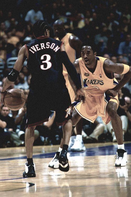 Allen Iverson Vs Kobe Bryant Nba Allen Iverson Sports