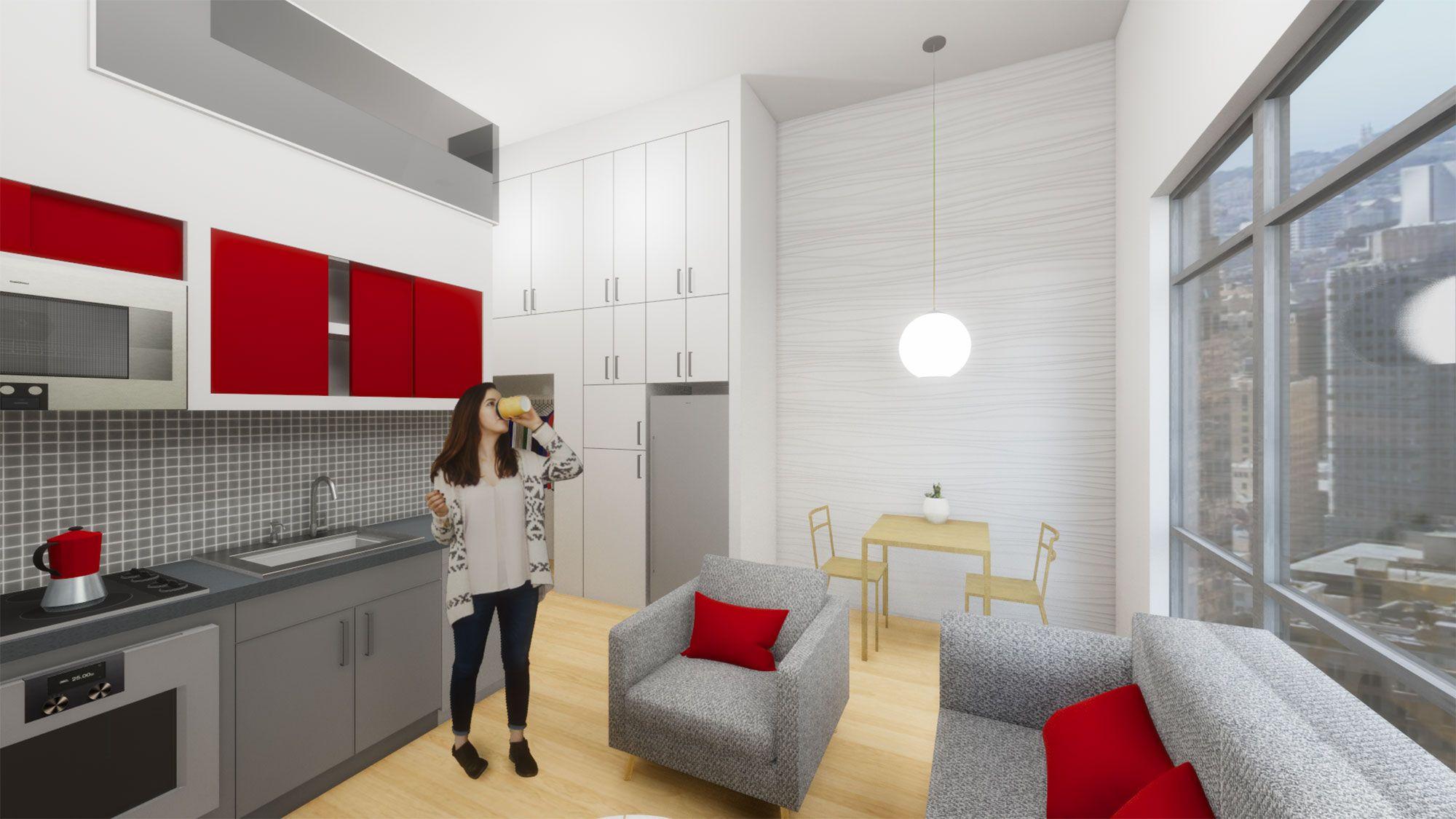 Micro Apartments Apartment Design Architecture Plan Micro