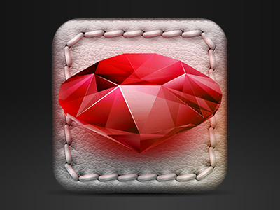 iOS game icon WIP by Hrvoje Bielen