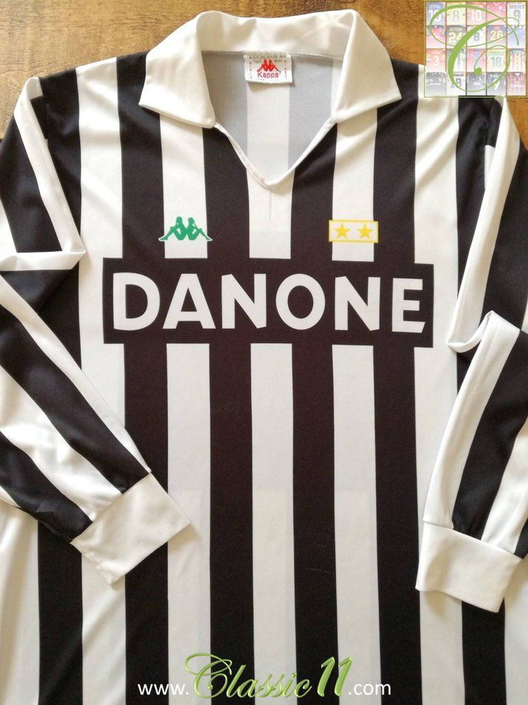 52b0d7bb0 1992 93 Juventus Home Football Shirt (XL)  1992  1993  home  juventus  xl