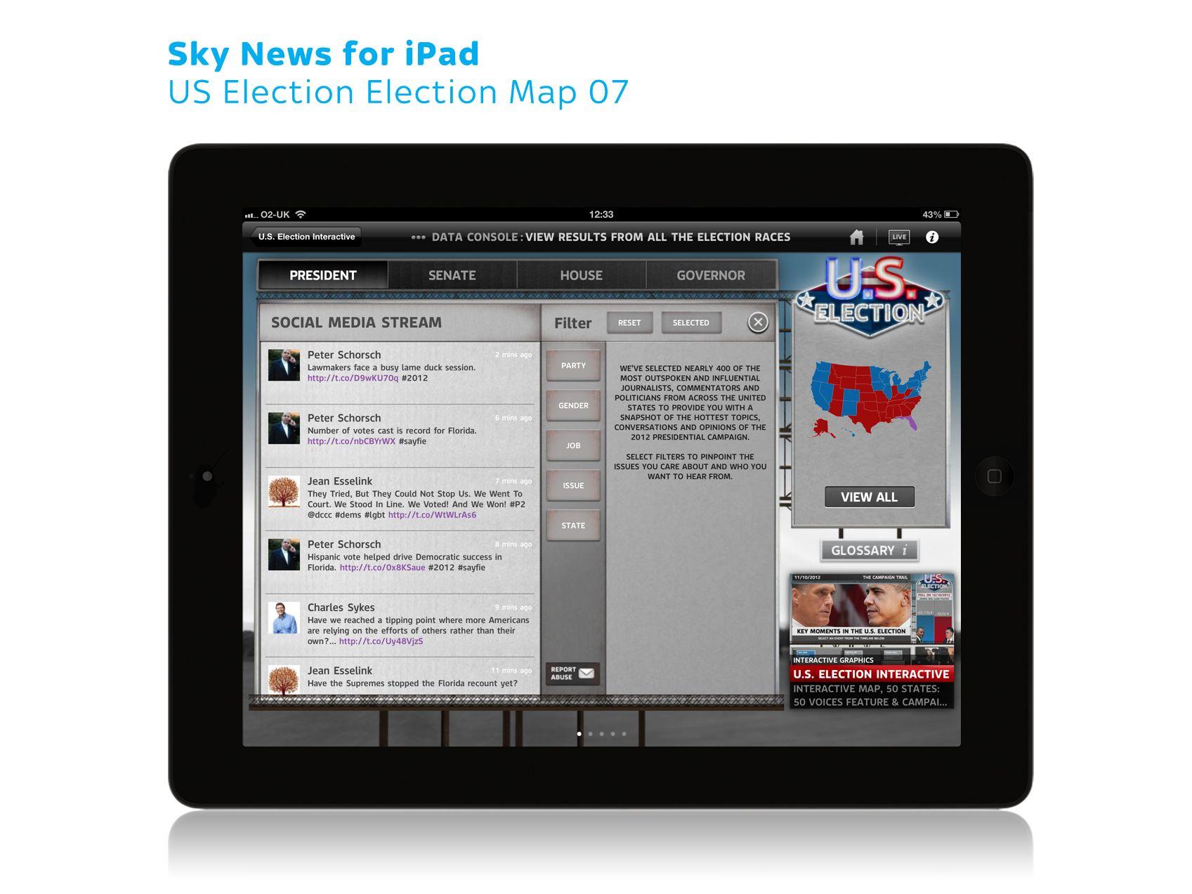 Pin on Sky News iPad graphics