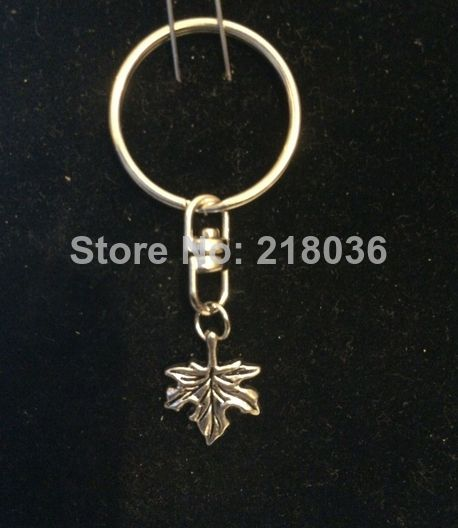 20 pcs Free Shipping Fashion Vintage Silver Turn Ring Keychain Leaf Charms Fit DIY Car Key Chains Accessories DIY Jewelry N1979 Price: US $12.99 / lot 20 pieces / lot , US $0.65 / piece Bulk PriceDescribe quantity : 20pcs colour : as the picture shown side : RING 25mm   material :  alloy  conversion : 1 inch = 25.4mm or 1mm = 0.0393 inc