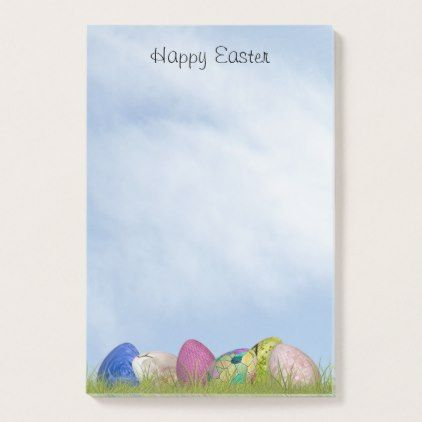 Happy easter floral photography easter eggs post it notes happy easter floral photography easter eggs post it notes template gifts custom diy negle Choice Image