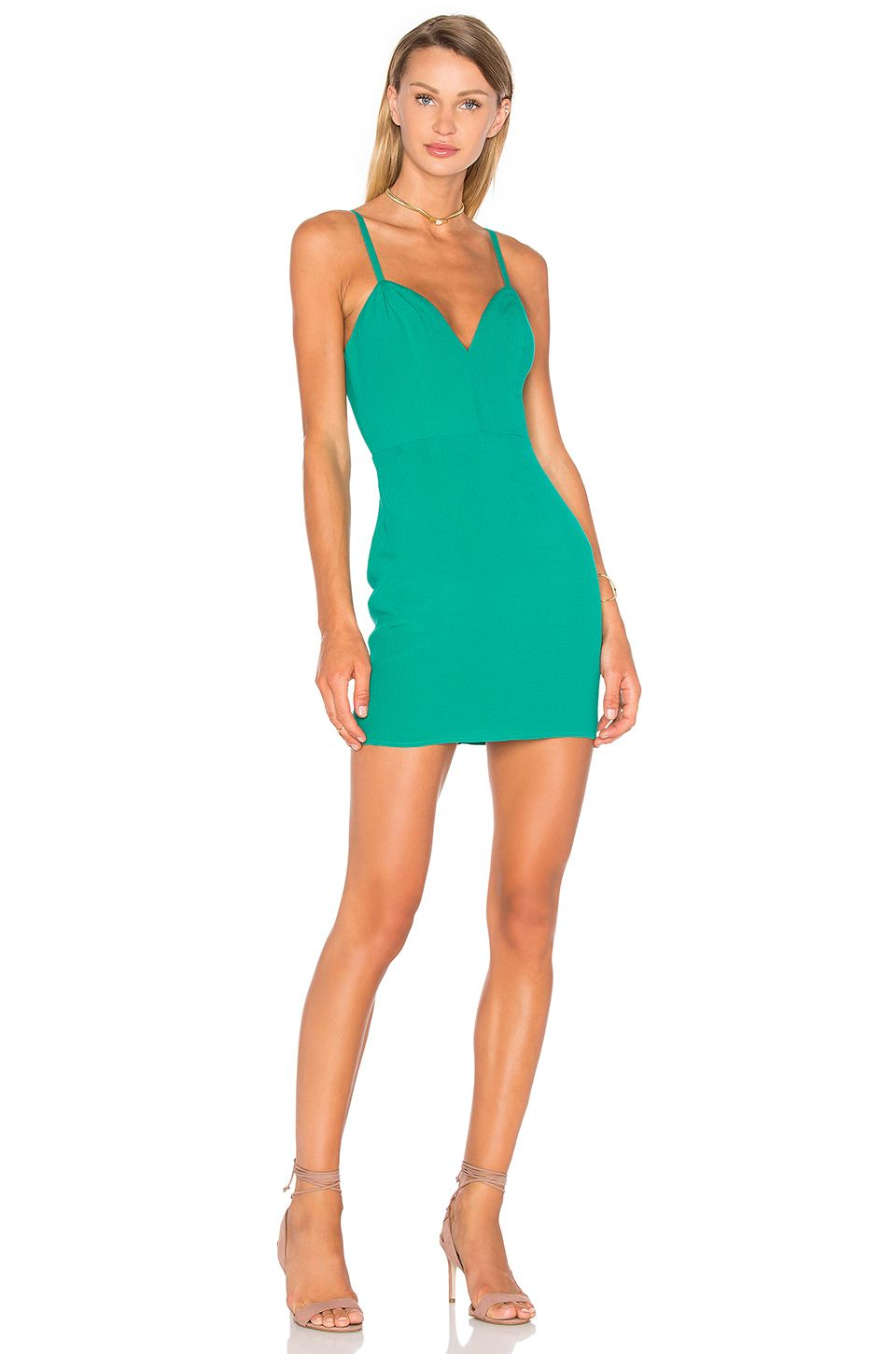 NBD x Naven Twins Not Your Babe Dress in Evergreen | REVOLVE | MODA ...