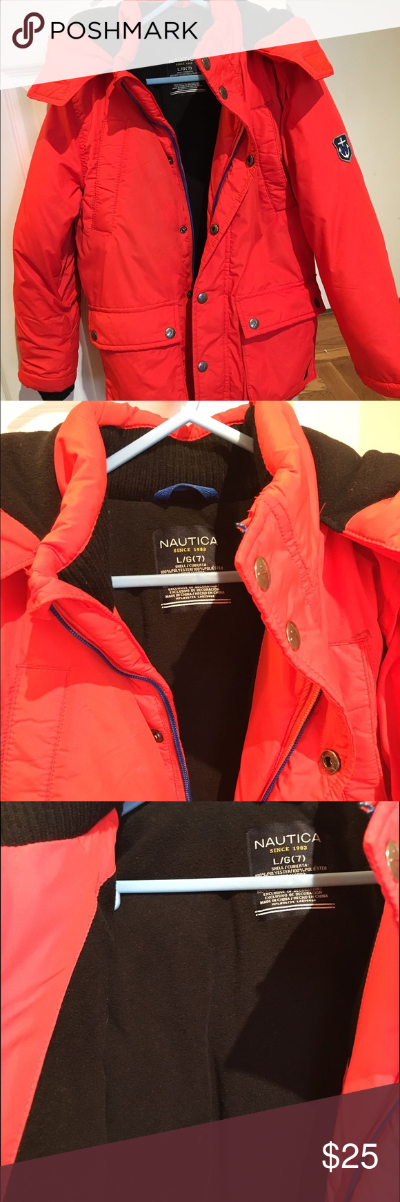 2bb9ba674240 SOLD Boys heavy jacket