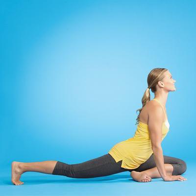stretch hip flexor injury  hip flexor hot yoga dynamic