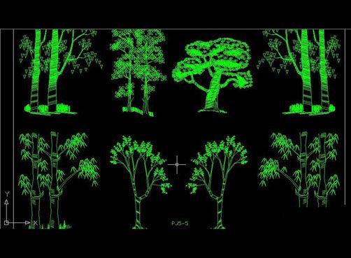 Landscape Architecture Free Autocad Drawing Cad Blocks
