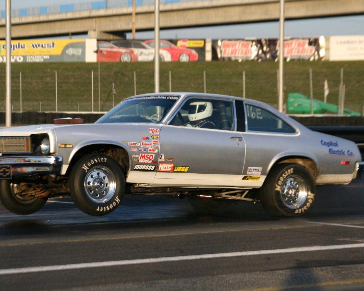 1976 Chevrolet Nova 383 Sbc Nitrous 1 4 Mile Drag Racing Chevrolet Nova Chevrolet Chevy Nova