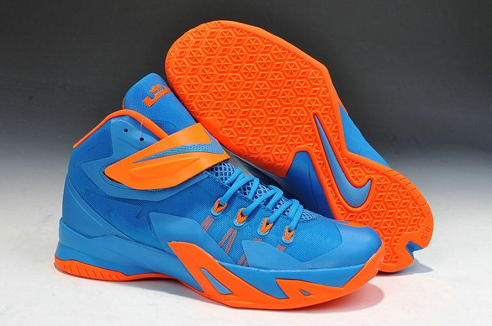 Lebron Soldier 8 Blue Hero Total Orange  b8862d89a5