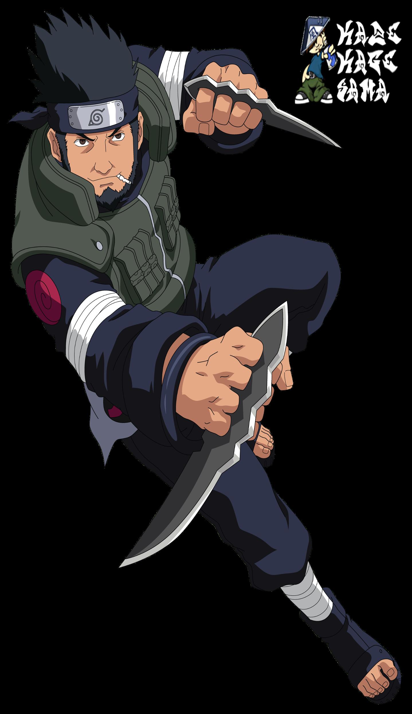 Voice Of Asuma Sarutobi (Youth) - Naruto Shippuden the Movie 4 ...