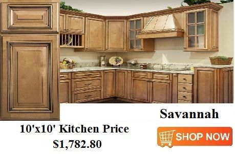 Savannah Cabinets From CabinetsDirectRTA.com | 10x10 Kitchen Cabinet ...
