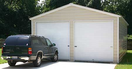 Best Metal Prefab Garage With Images Metal Garages Metal 400 x 300