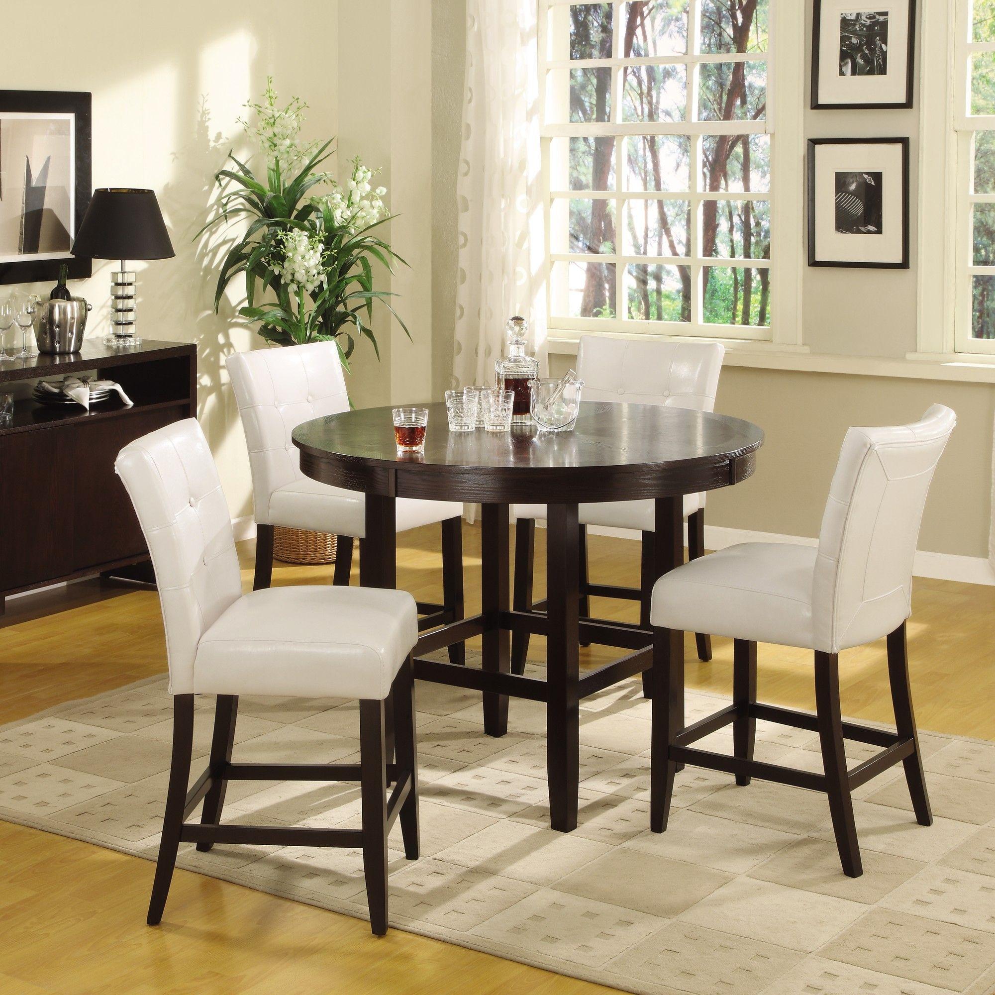 Bossa 5 Piece Counter Height Dining Set | Wayfair | Dining room sets ...