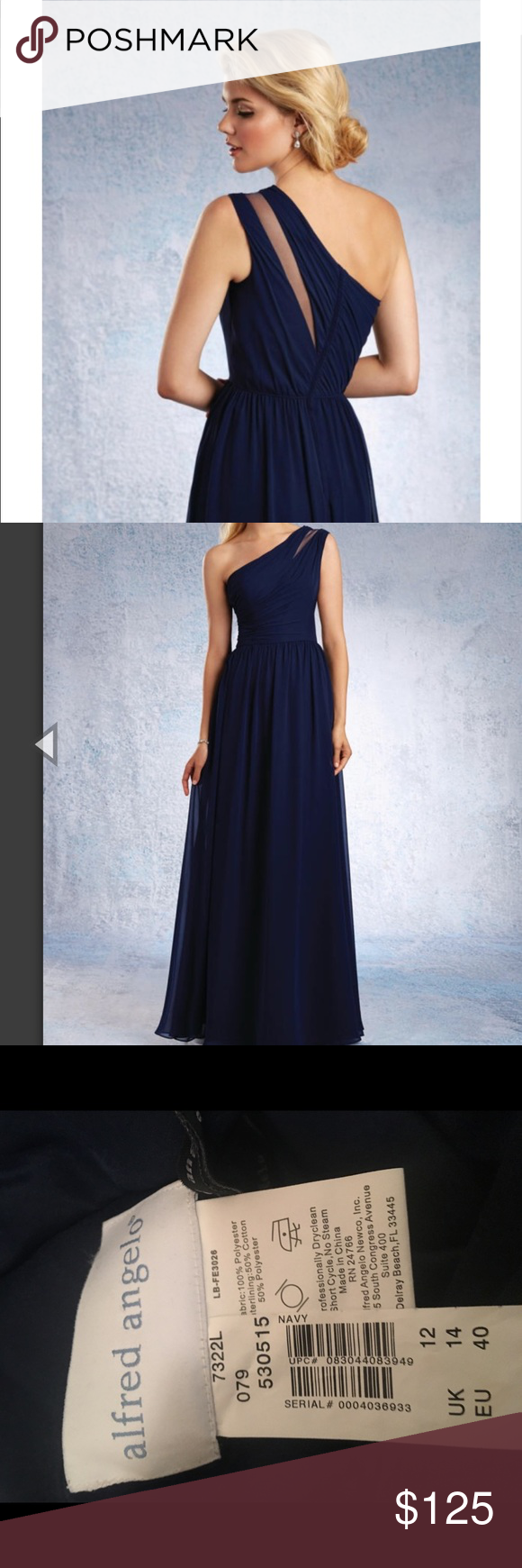 Alfred angelo sheer one shoulder dress ombrellifo Gallery