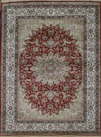 Amazon Com Garnet Red New Silk Traditional Isphan Area Rugs Ultra Low Pile 9 10x12 6 300x380cm Ad Salon Rugs Machine Made Rugs Area Rugs