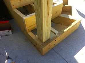 Best Lower Deck Stair Post Attachment Stair Posts Deck 400 x 300