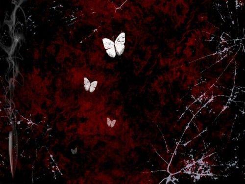 Bullet Butterfly Wallpaper