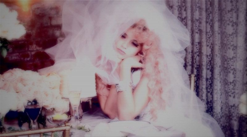Abbey Lee Kershaw stars in 'The Wedding', a film for Vs. Magazine by Ellen von Unwerth