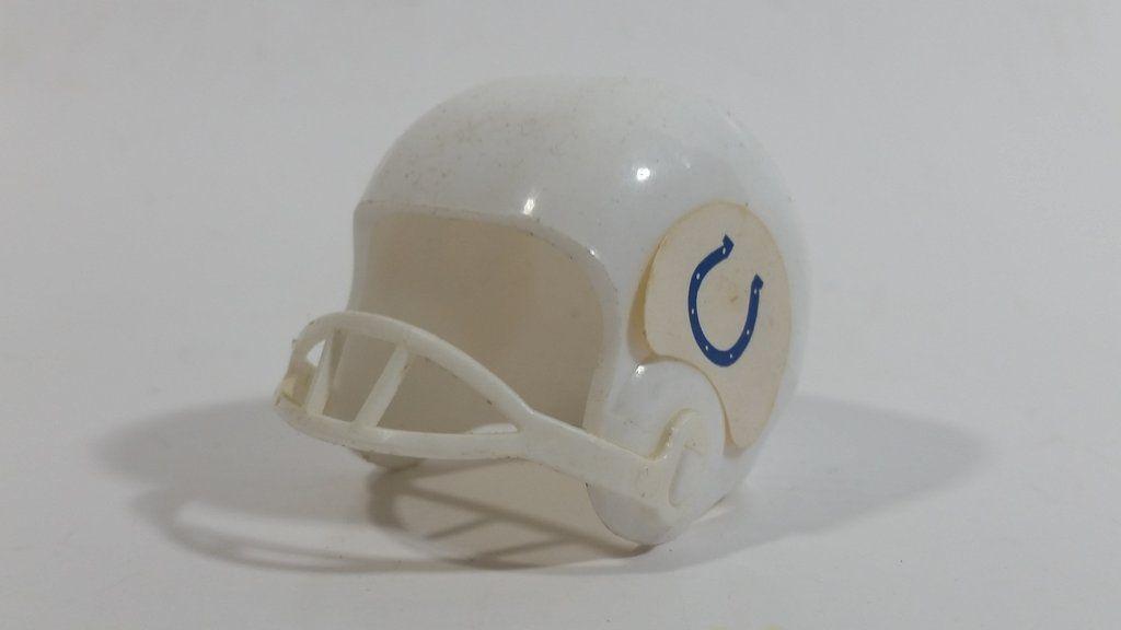 Vintage Opi Indianapolis Colts Nfl Team Gumball Miniature Mini Football Helmet Mini Football Helmet Mini Footballs Football Helmets