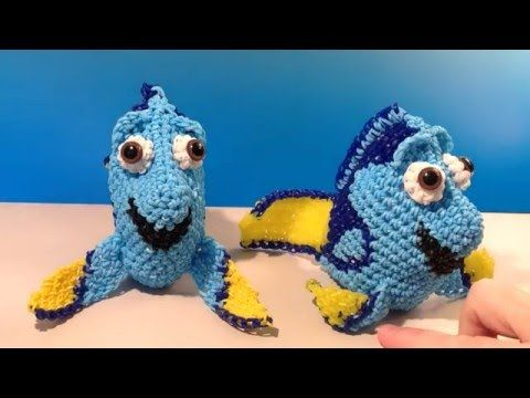 Nemo Part 1 Loomigurumi Amigurumi Rainbow Loom Band Crochet Hook ... | 360x480