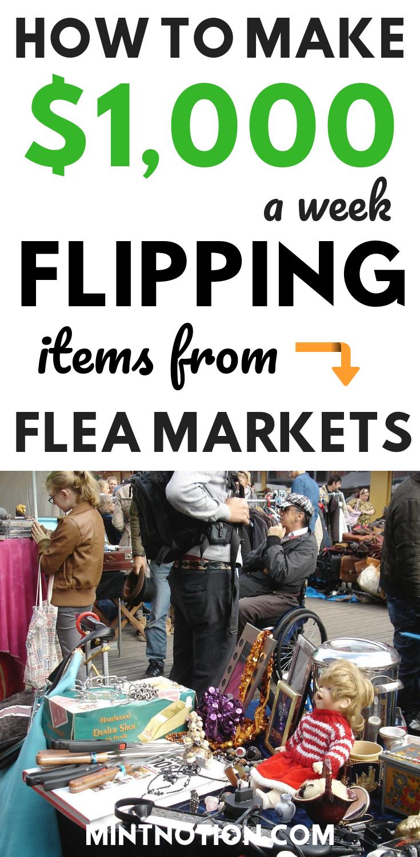 flea market profit