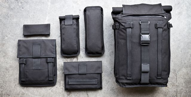 arkiv field backpack...customize/ make your pack what you need it to be
