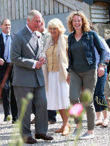 Camilla Parker Bowles Photos Photos: The Prince of Wales & Duchess of Cornwall Visit Wales - Day 4 #visitwales Prince Charles, Prince of Wales, Camilla, Duchess of Cornwall and Kate Humble visit Humble by Nature Farm on July 9 2015 in Monmouth, Wales. Humble by Nature is a working farm which was saved from closure by Kate Humble and her husband Ludo Graham in 2010. It includes a rural skills centre as well as a farm shop, cafe and adventure playground. #visitwales