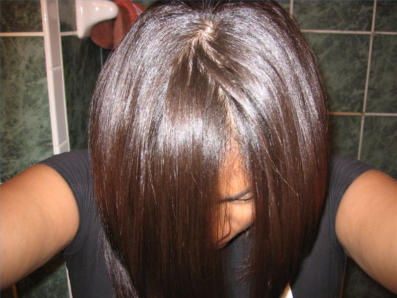 Dominican Hair Style: How To Apply An Easy Straight Hair Straightening System