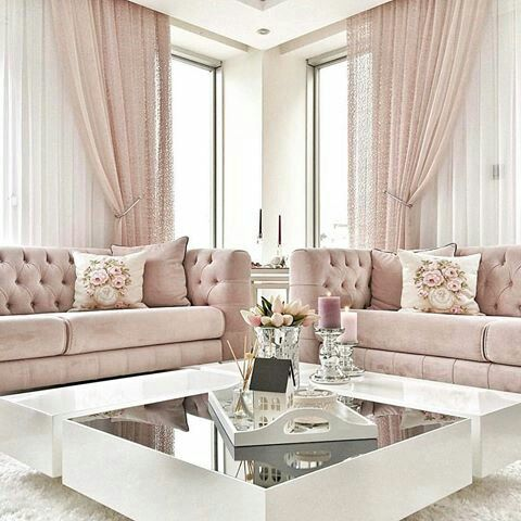 incredible pink living room ideas | 20 Captivating Mid Century Modern Living Room Design Ideas ...