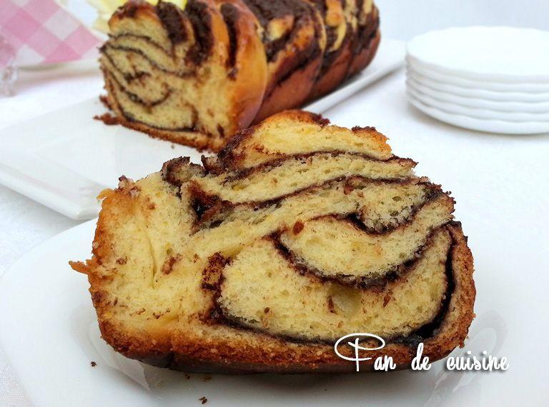 Asalam Alaykom, voilà une recette très ancienne le krantz #cake qui est une brioche roulée et fourrée de #chocolat, c'était l'épreuve technique du meilleur pâtissier 2015 qui m'a bien tenté!! C'est très bon essayez le vous n'allez pas être déçu!! J'ai...