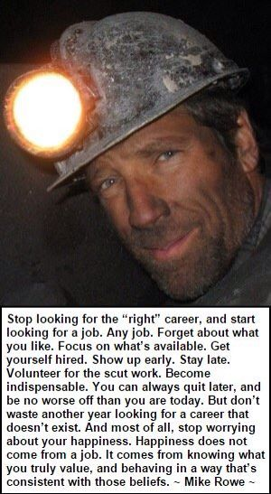 Mike rowe asshole