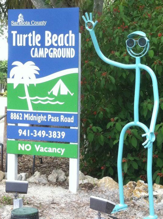 Turtle Beach Campground In Sarasota Fl