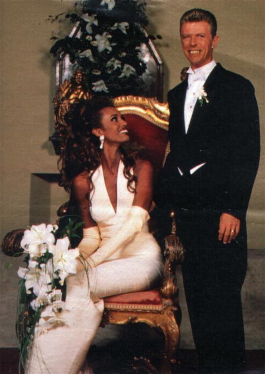 David Bowie Iman Wedding : david, bowie, wedding, David, Bowie, Bowie,, Family