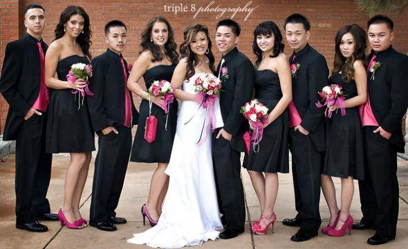 black wedding bridesmaid dresses | Black Wedding Gowns/Dresses ...