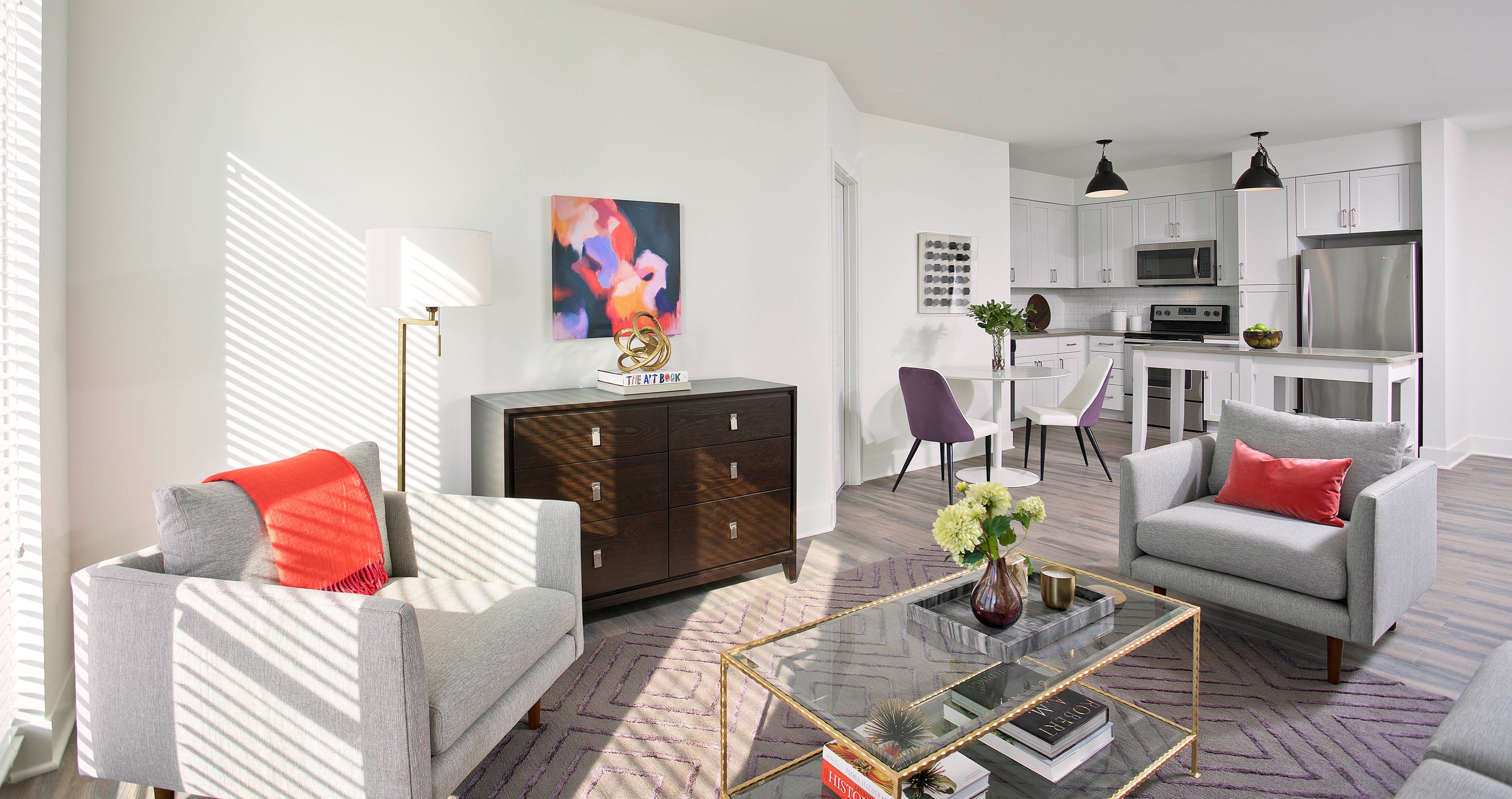 The Thornton Alexandria Va Ava Dsgn Spartansurfaces Floorscore Lvt Luxury Apartments Multifamily Housing Home