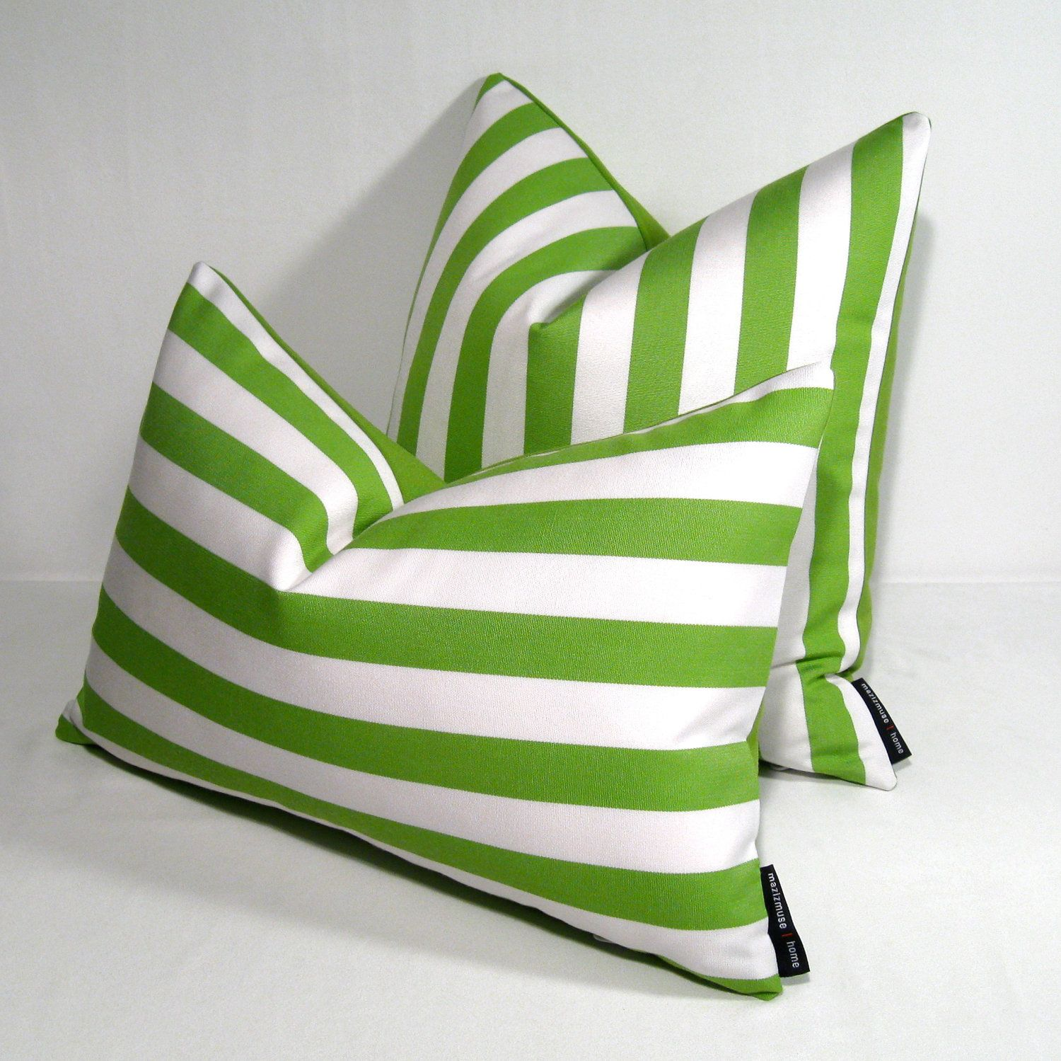 Lime Green Throw Pillow Covers Lime Green Pillow Cover - Outdoor Cushion - Decorative Modern ...