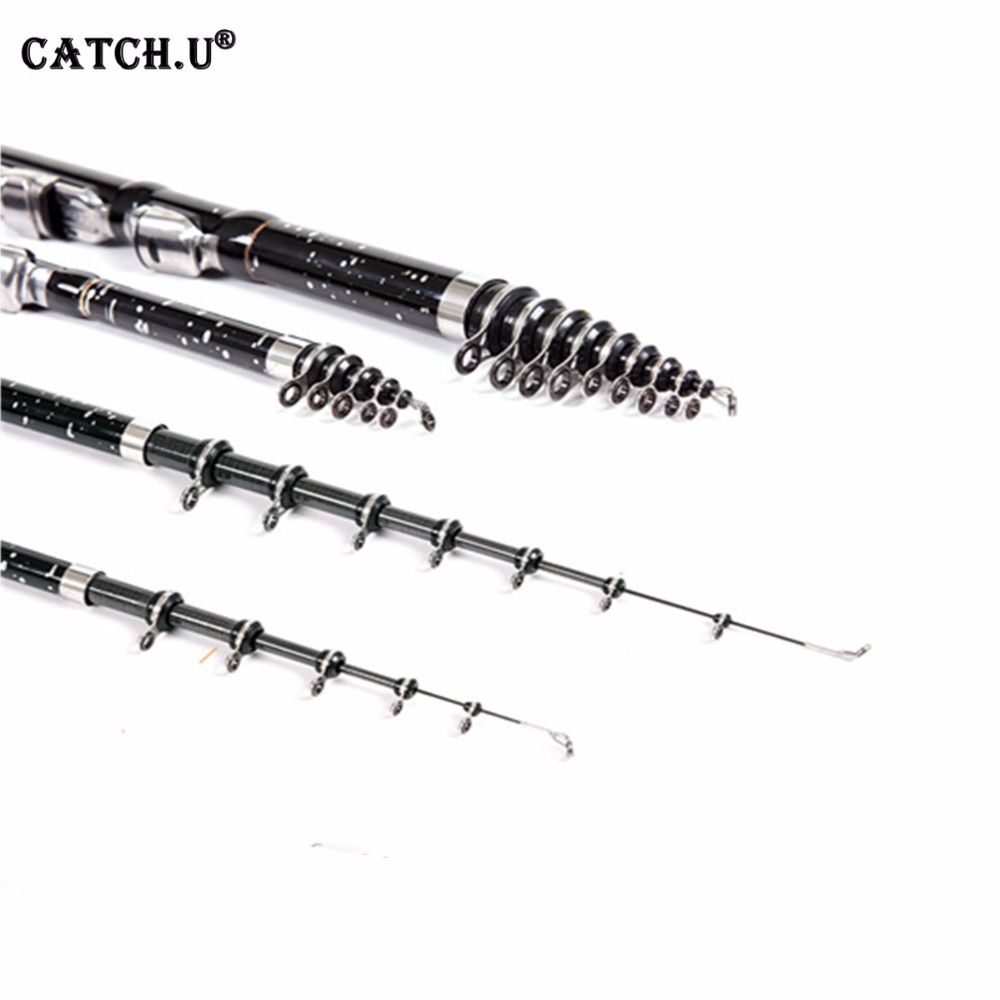 Carbon Fiber Carp Feeder Rod Telescopic Fishing Rod Surf