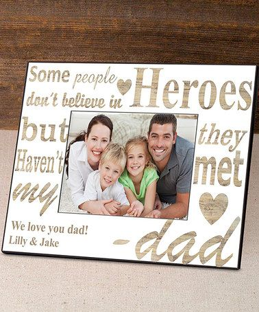Love this My Hero Personalized Frame on #zulily! #zulilyfinds | NANA ...