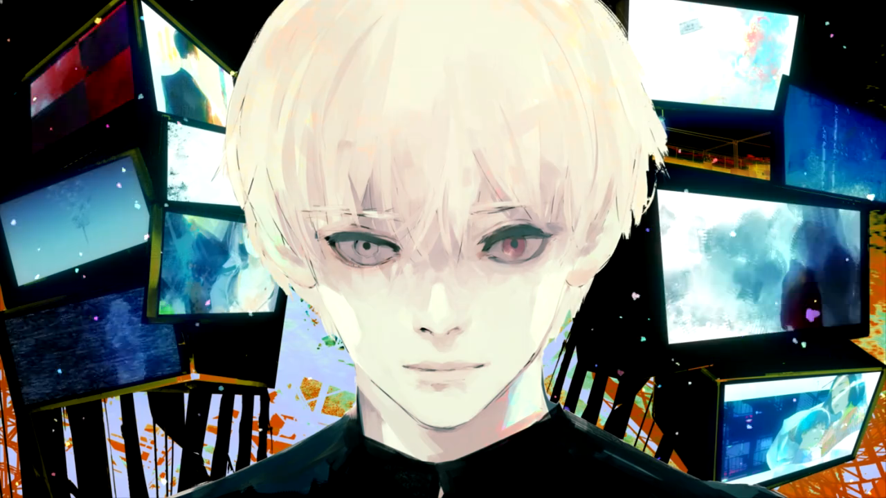 Google themes anime tokyo ghoul - Water Paint Poster Examples Tokyo Ghoul Google Search