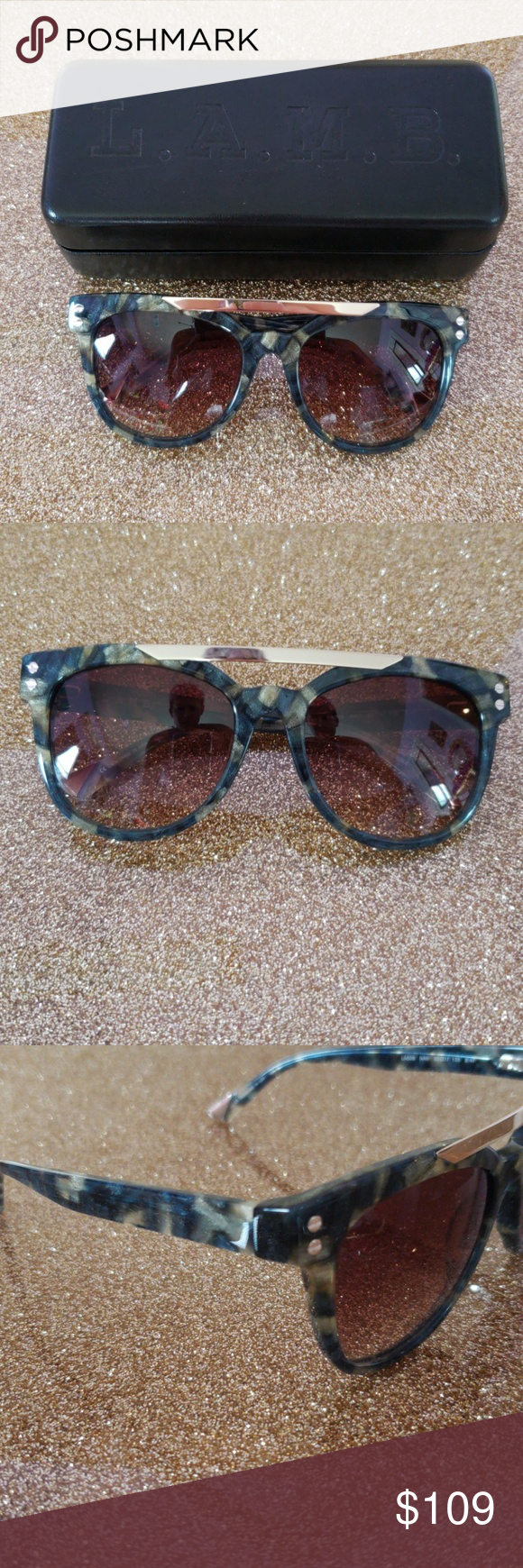 0ea67e31bc7 These sunglasses are brand new with matching bag and case. L.A.M.B.  Accessories Sunglasses