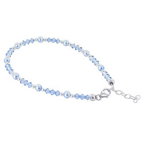 heart buy sterling bracelet bracelets anklets silver multi love cz ankle color anklet pin