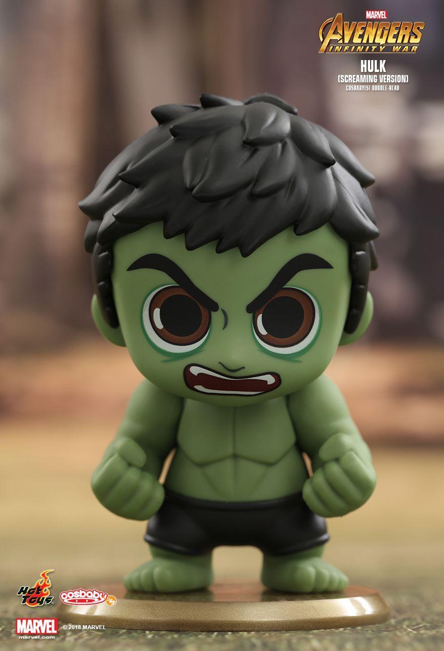 Hot Toys Avengers Infinity War Hulk Cosbaby Marvel