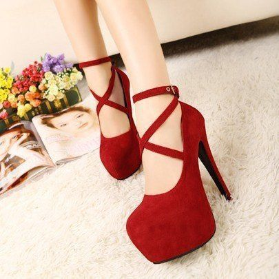 2014 new spring high-heeled shoes wedding shoes platform fashion women's shoes pumps red bottom high heels 14cm plus size