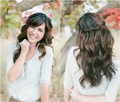 Image result for wedding hairstyles long hair down wavy