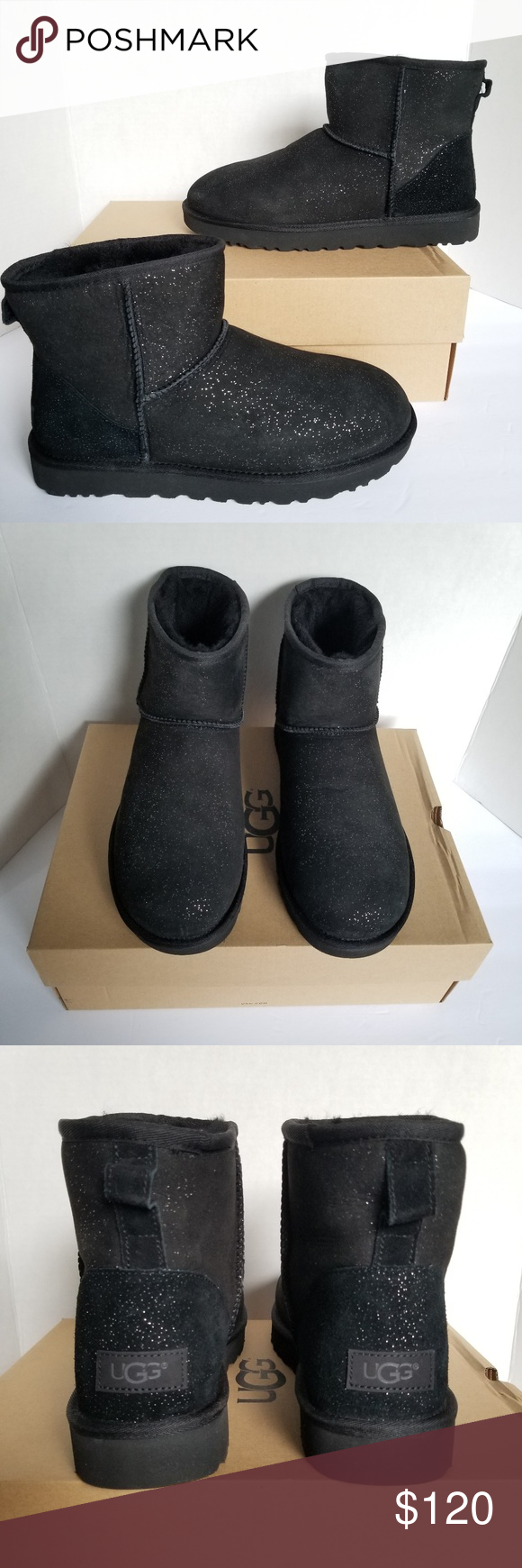 UGG Classic Mini Milky Way Boots. Size