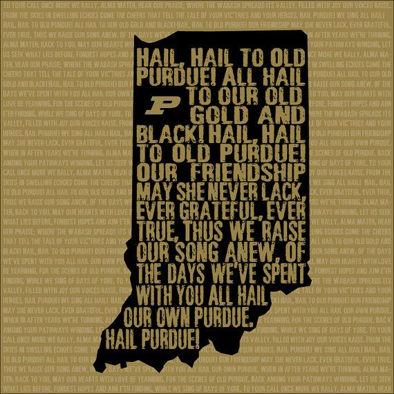 Purdue Canvas Gallery Wrapped Purdue Art Purdue University Purdue Purdue University Purdue Boilermakers