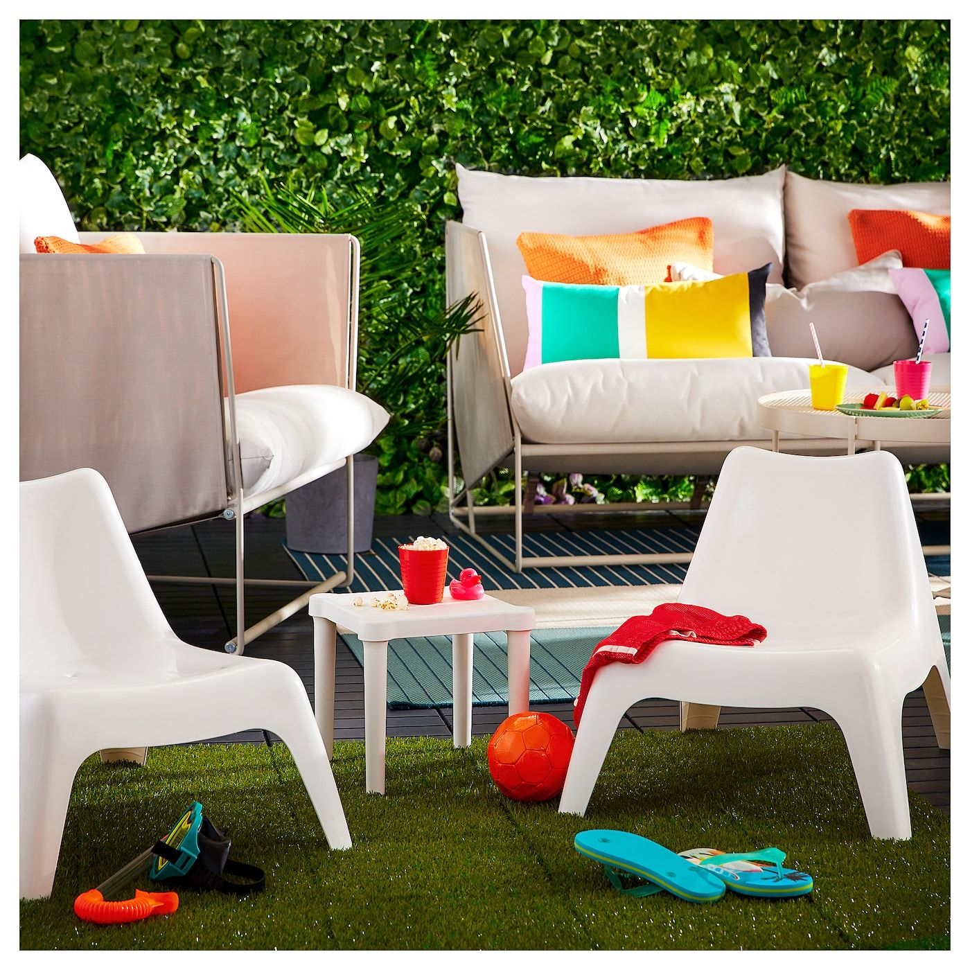 Groovy Bunso Childrens Chair Outdoor White In 2019 Backyard Caraccident5 Cool Chair Designs And Ideas Caraccident5Info
