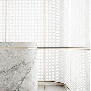 White, gold and marble. #interior #minimal #monochromatic // Instagram photo from jack.designs | @leftyio
