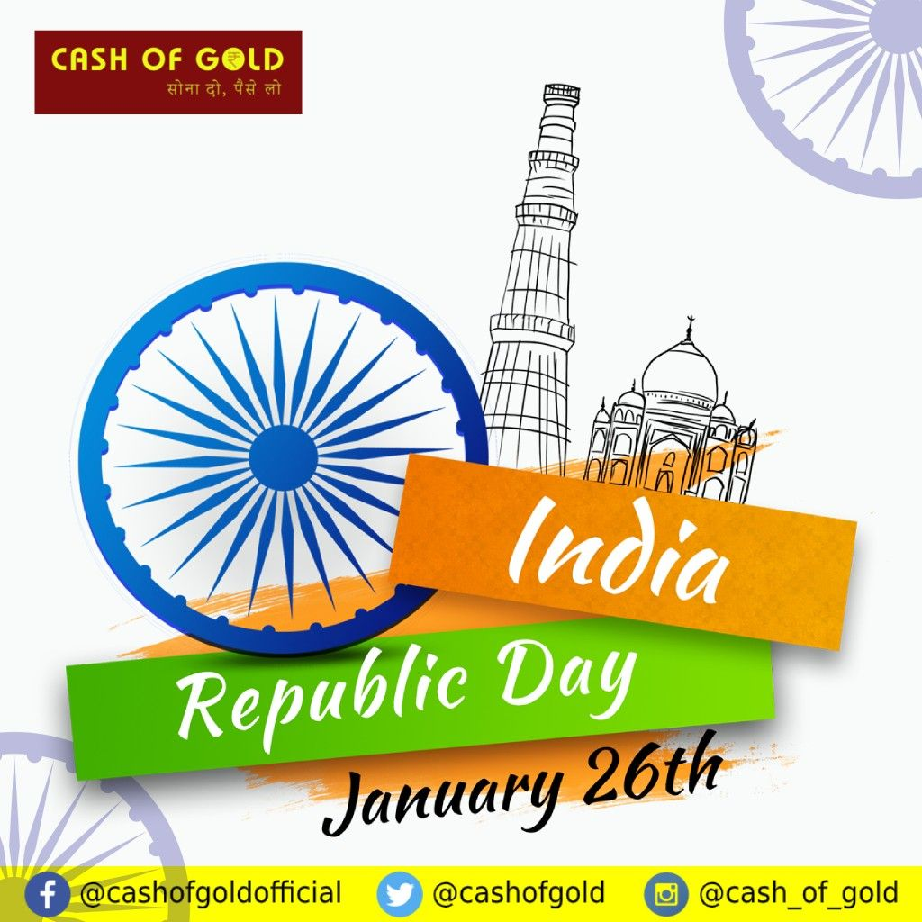 26 January In 2021 Republic Day We Remember Republic